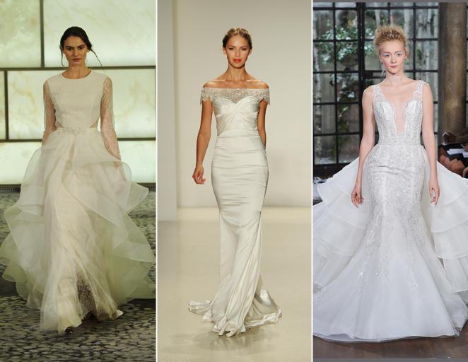 ชุดเจ้าสาวรูปแบบสามชุดแต่งงาน