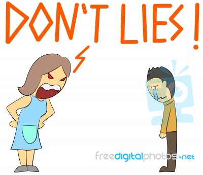 cartoon-illustration-rage-yelling-lying-100335925