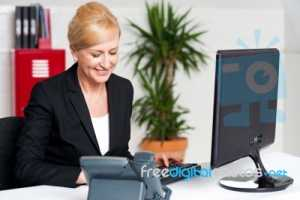 executive-woman-working-at-the-office-100261189