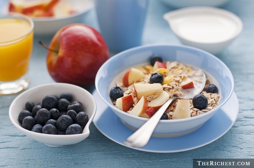 กินอาหารเช้า