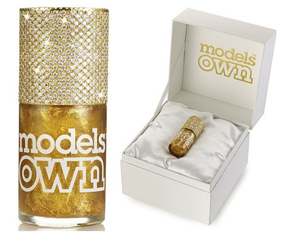 Models Own Gold Rush Nail Polish
