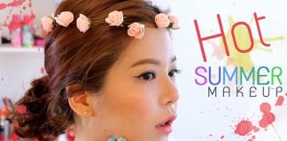 Hot Summer Makeup Head