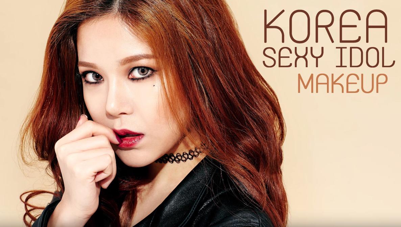KoreaSexyIdolMakeupHead