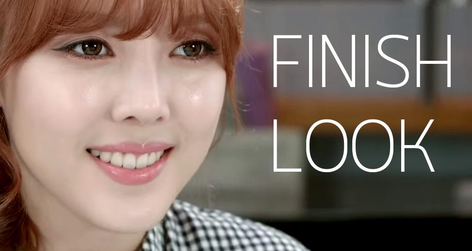 Brown Makeup FINISH