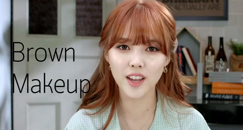 Brown Makeup HEAD