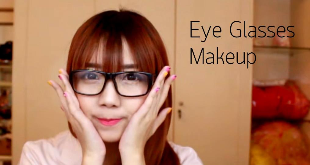 Eye Glasses Makeup HEAD
