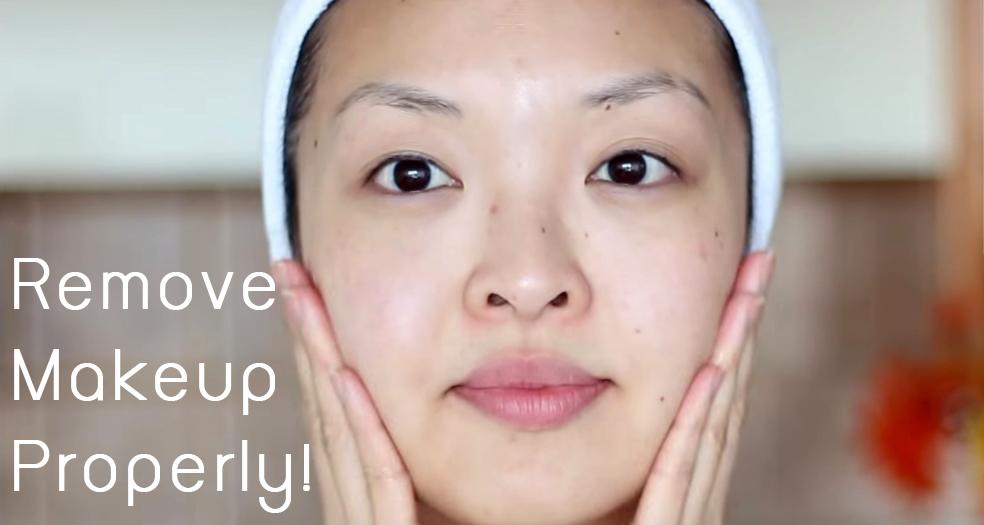Remove Makeup ProperlyHJead