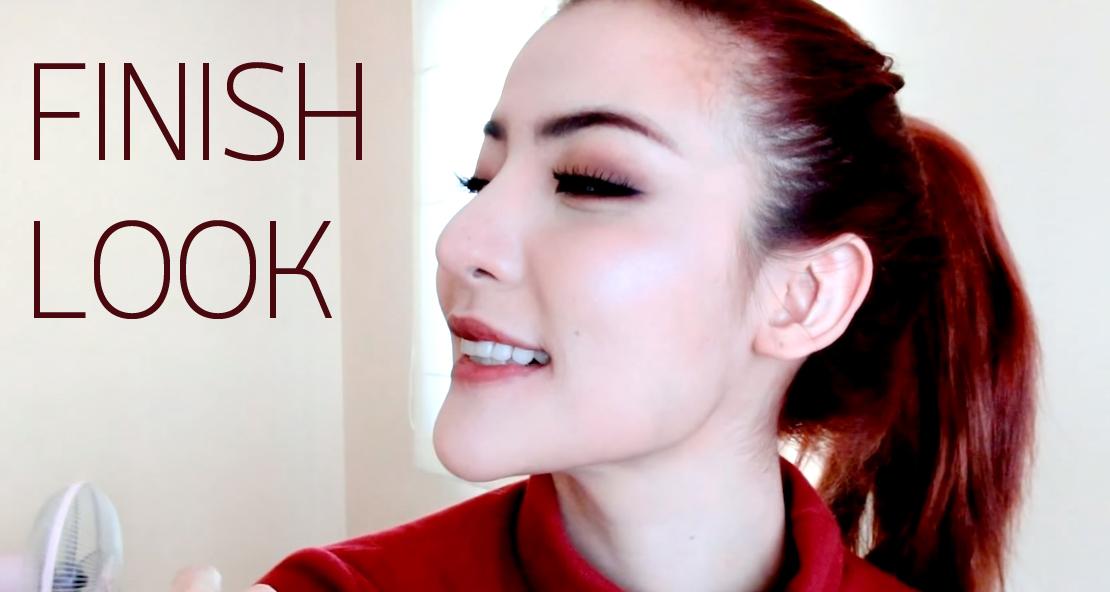 Winter Makeup FINISH LOOK