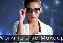Working Chic Makeup Head