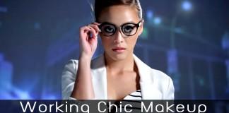 Working Chic Makeup Head