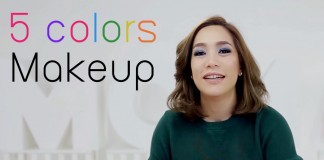 5 colors MAKEUP HEAD