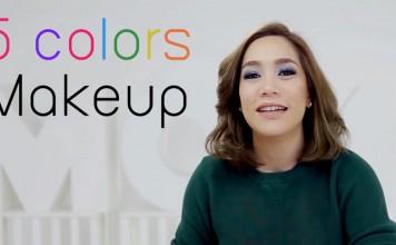 5 colors MAKEUP HEAD