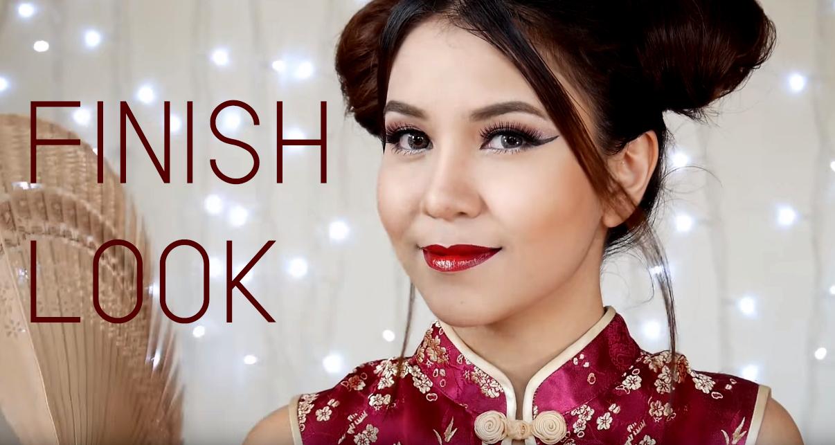 Chinese Girl makeup FINSH