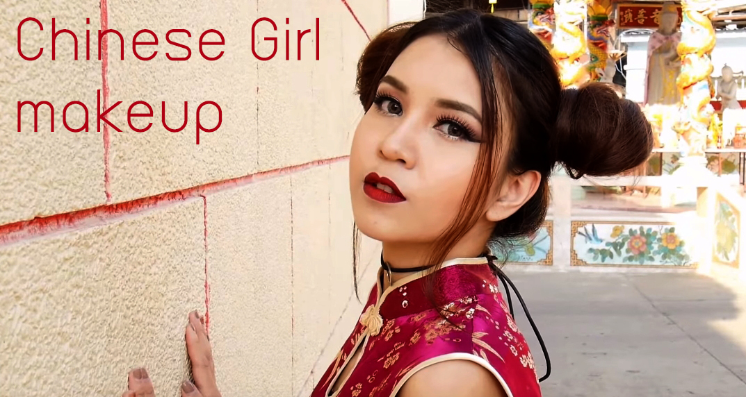 Chinese Girl makeup HEAD