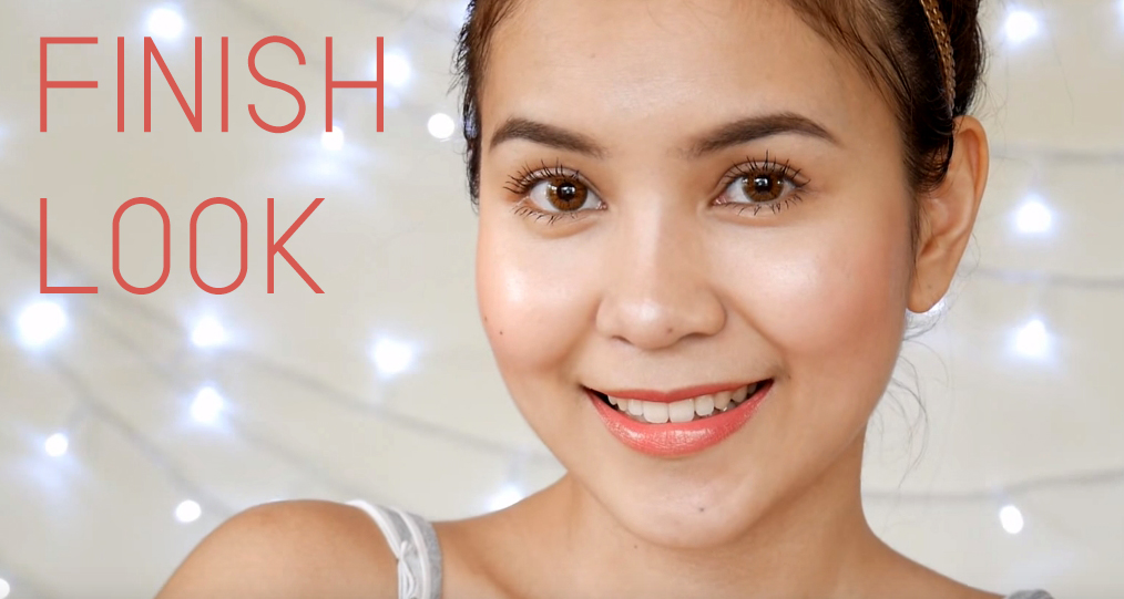 Easy glowing makeup FINISH