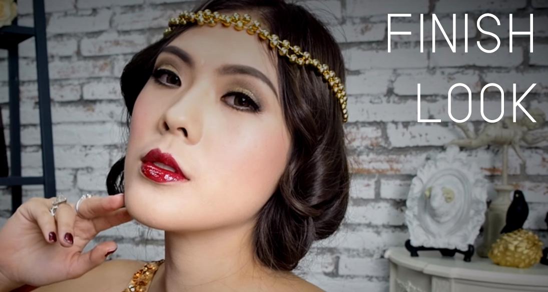 Gatsby Lady Makeup FINISH