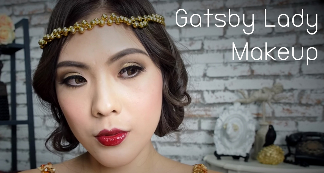 Gatsby Lady Makeup HEAD
