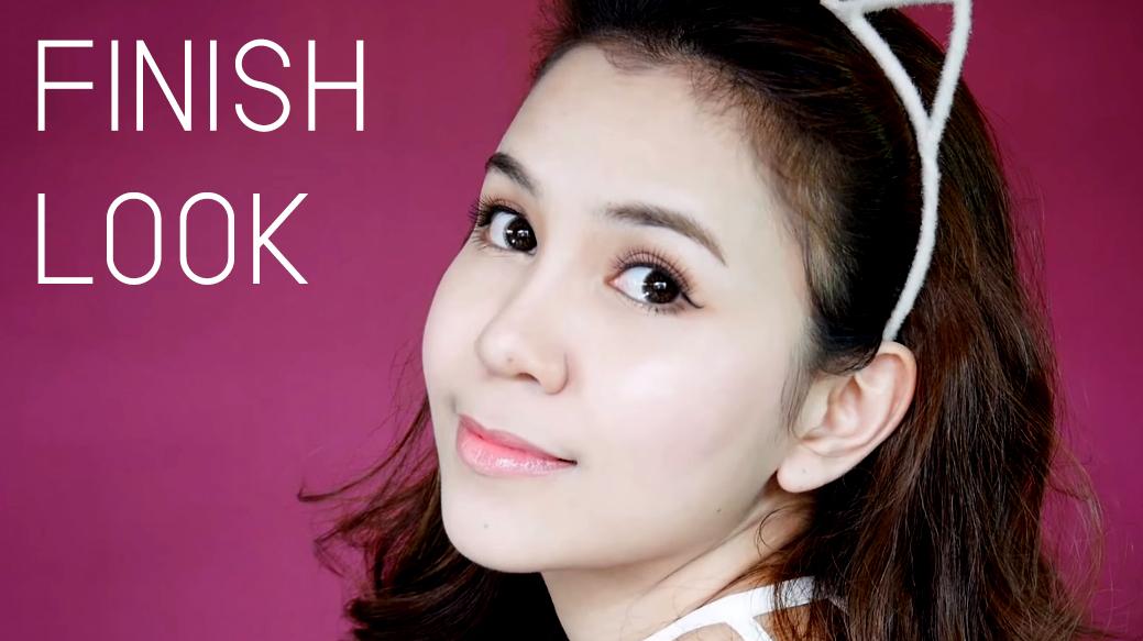 Korean style makeup FINISH