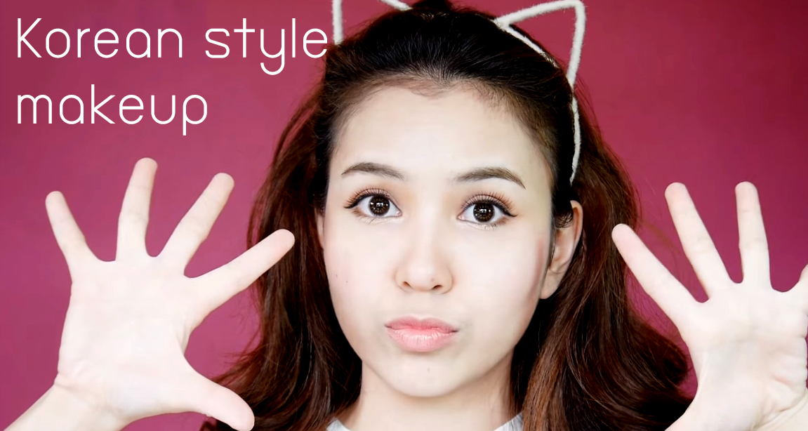 Korean style makeup HEAD