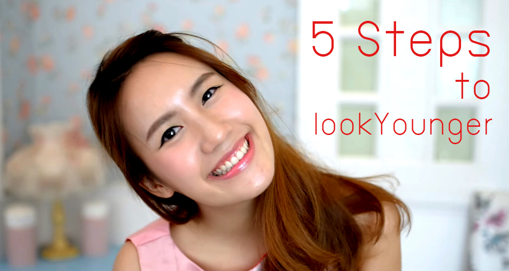 5 Steps to look Younger HEAD
