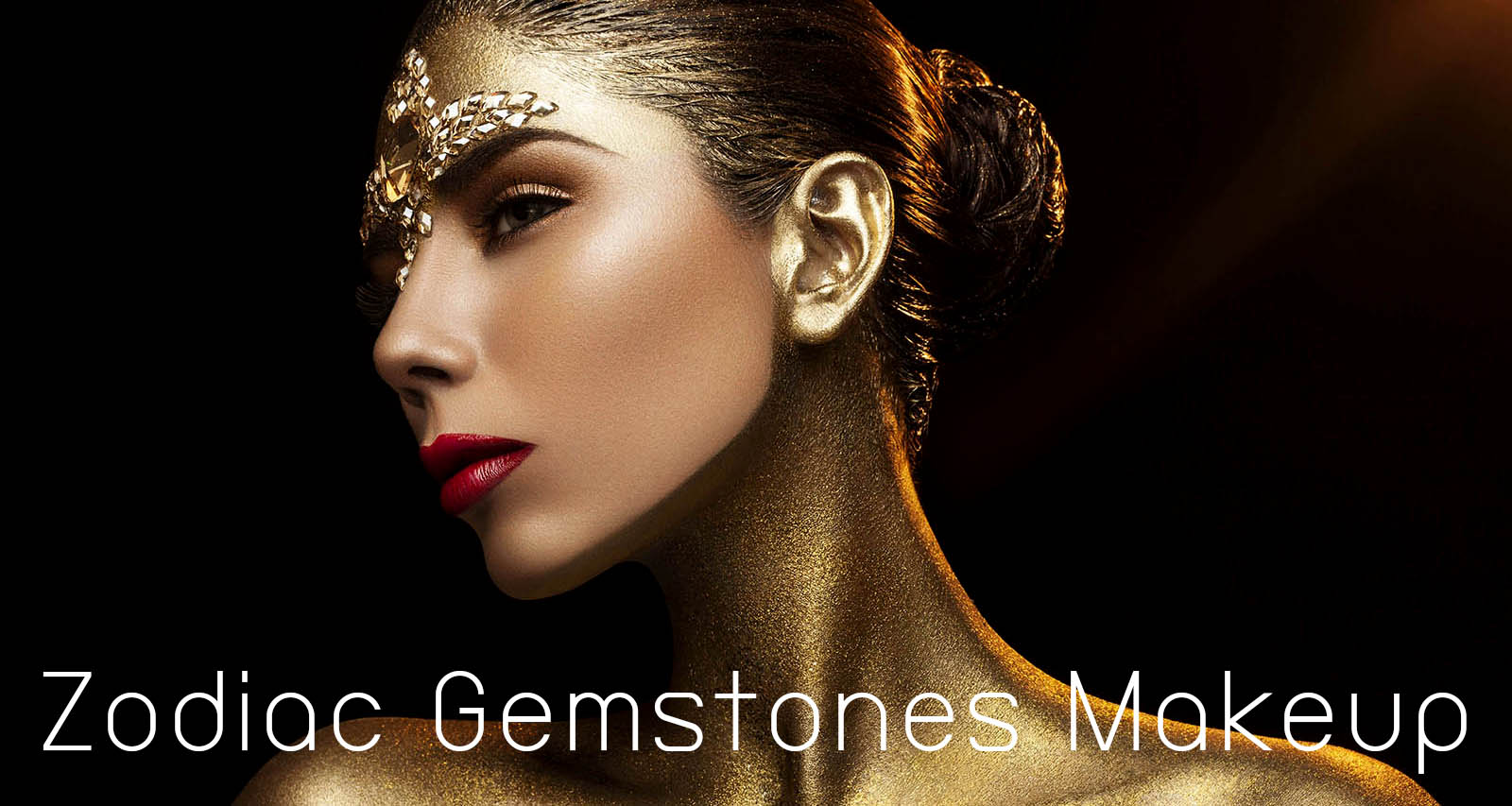 Zodiac Gemstones Makeup HEAD