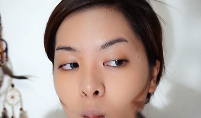 Deep Brown Makeup 4