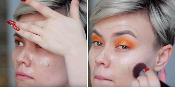 Makeup สำหรับร้อนนี้ สีส้มมาเเรง ! 2