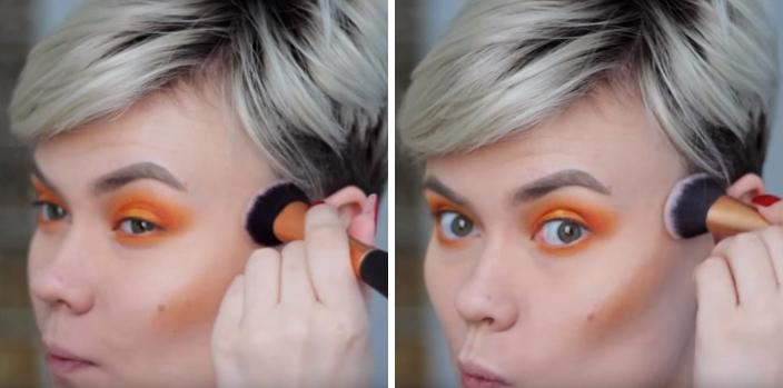 Makeup สำหรับร้อนนี้ สีส้มมาเเรง ! 3