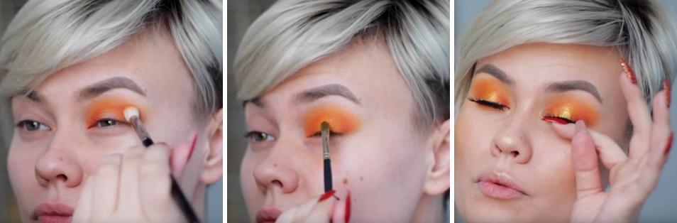 Makeup สำหรับร้อนนี้ สีส้มมาเเรง ! 4