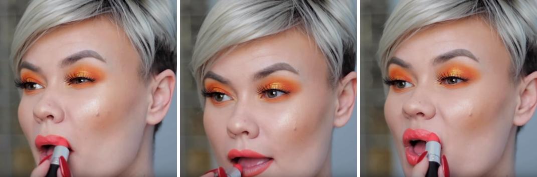 Makeup สำหรับร้อนนี้ สีส้มมาเเรง ! 5