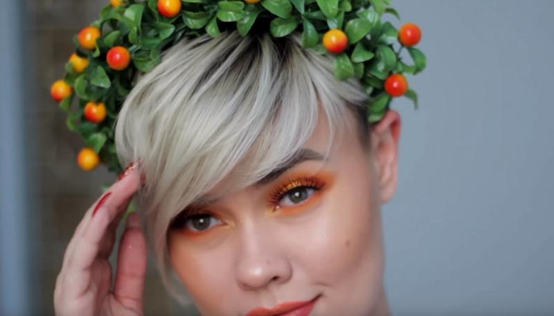 Makeup สำหรับร้อนนี้ สีส้มมาเเรง ! 7