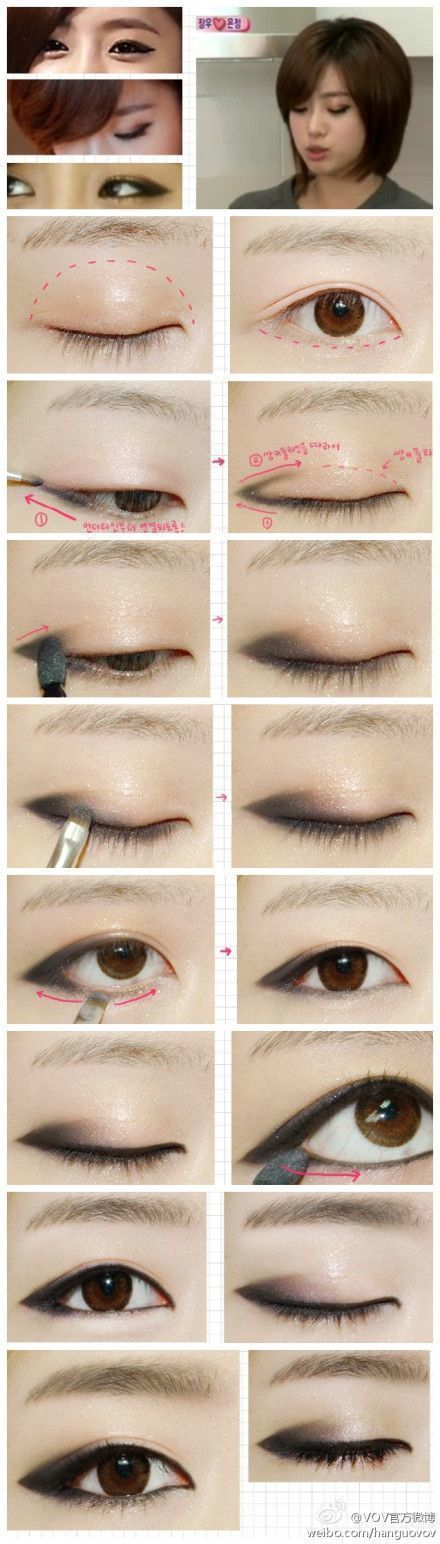 วิธีเขียนตา
