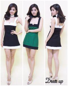 ชุดเดรสรัดรูป bangkok dress up